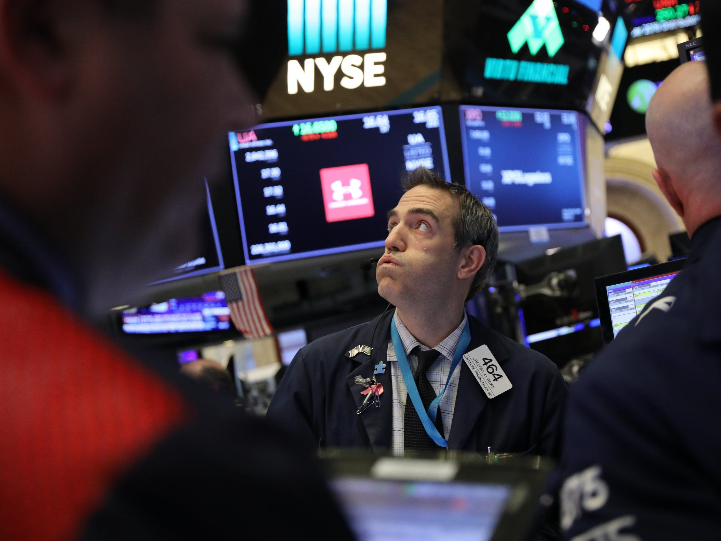 The Nasdaq is flirting with bearmarket territory for