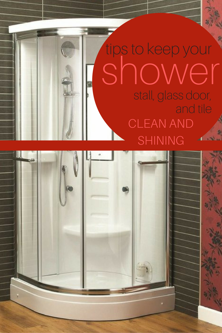 Tips To Keep Your Shower Stall Gl Door And Tile Clean