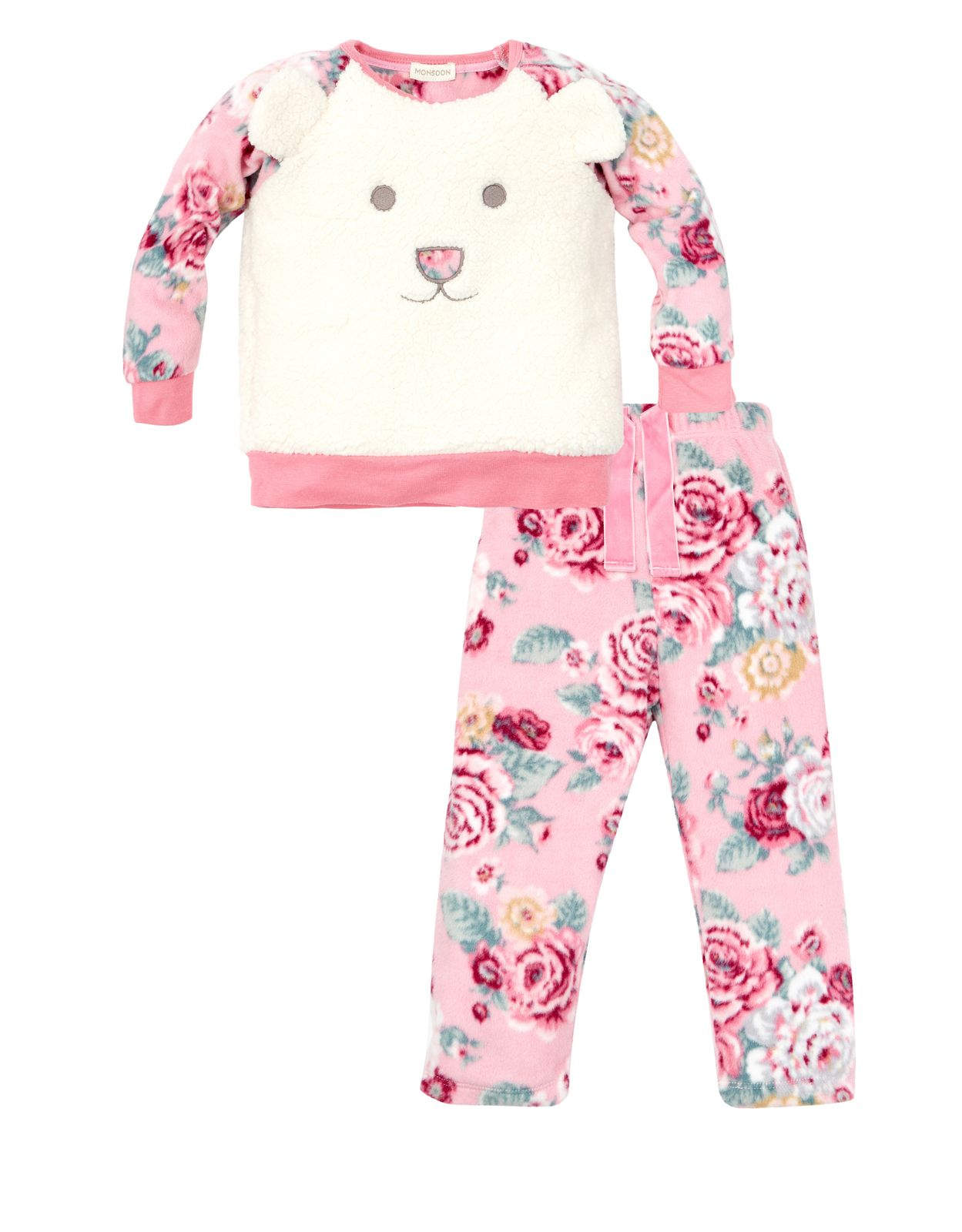 Novelty Bear PJ | Pink | Monsoon | kids clothes | Pinterest | Pijama ...