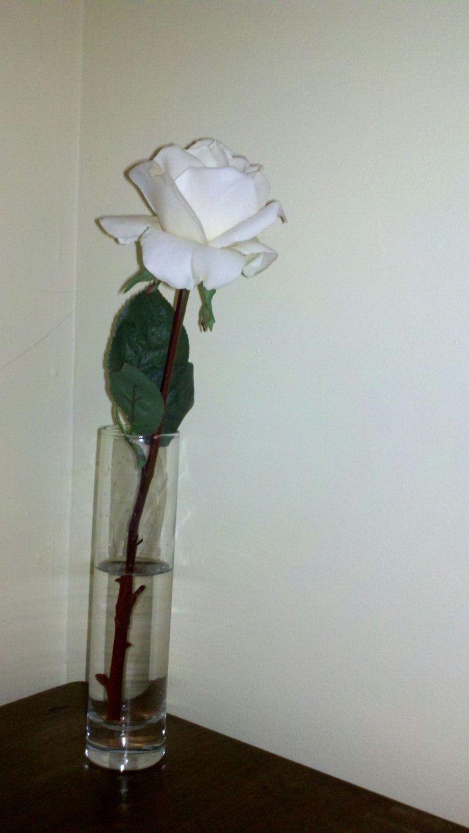 Hunger Games Craft: President Snow's Rose.