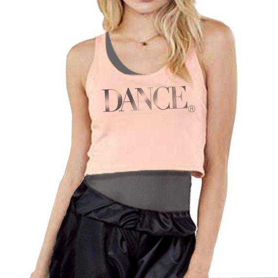17cbaae512442 New! Dance Crop Tank Top. Cropped Tank Top For Dance Teachers ...
