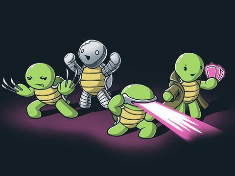 Las verdaderas tortugas mutantes