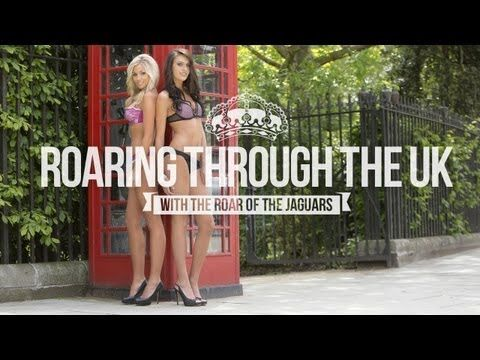ad42eca6 ▷ Roaring Through the UK with THE ROAR of the Jaguars - YouTube ...