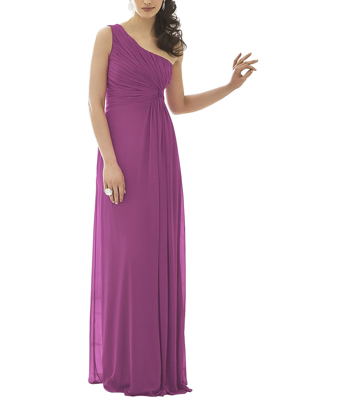 Wedding Principal Sponsors Gown: Purple Bridesmaid Dresses, Mix