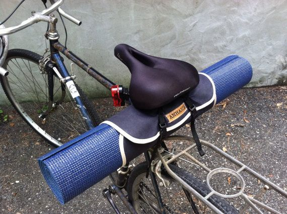 Bicycle Yoga Roll Bike Accessory Yoga Mat Roll Up Bike Accessories Yoga Mats Best Bicycle