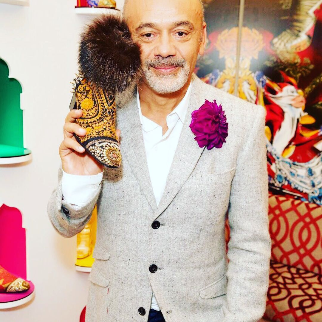 394acbef1db The Sabyasachi-Christian Louboutin collaboration world tour kicked off at  Harrods in London on Wednesday night  CLxSabyasachi  Sabyasachi   collaboration ...