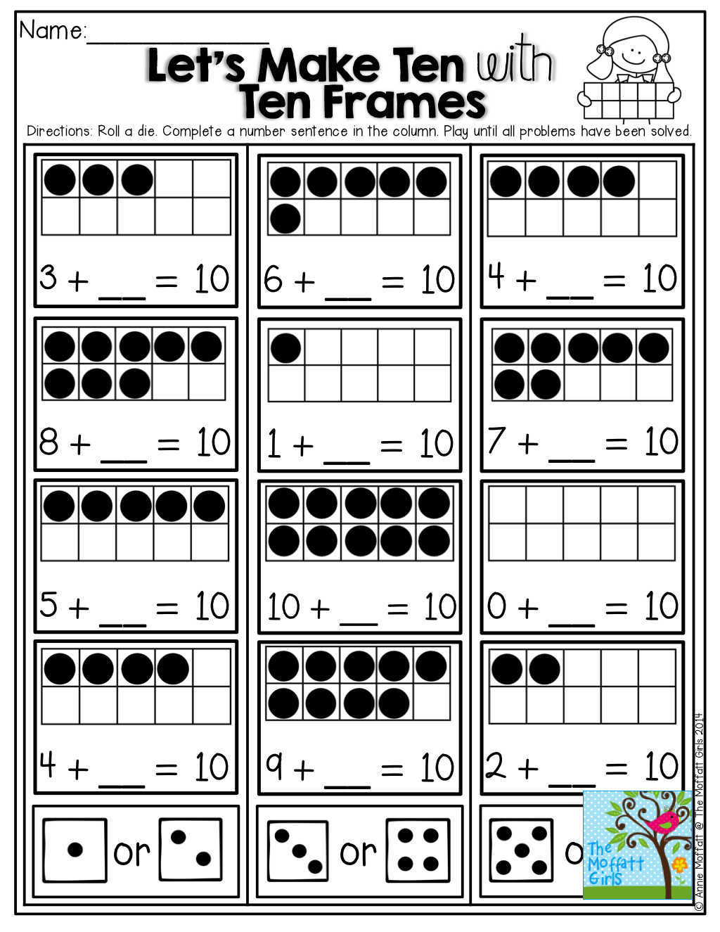 Let's Make TEN! TONS of FUN [ 1325 x 1024 Pixel ]