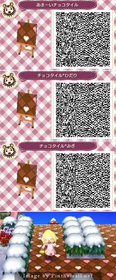 Chocolate Tile Qr Codes Advice Use One Tile As The Floor In Your