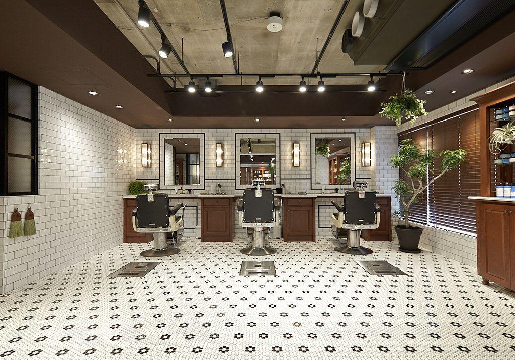 Freemans Sporting Club Tokyo Barber Shop Decor Salon Interior Design Barber Shop Interior