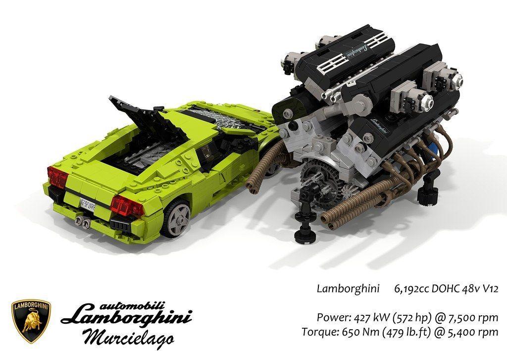 Lamborghini Murcielago & UCS 6.2L DOHC 48v V12 Engine(2001 ...