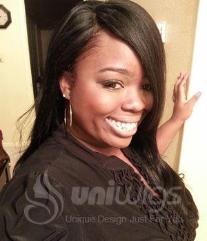 """Annabel Yaki Straight 18"""" Indian Remy Human Hair Lace Front Wig - UniWigs ® Official Site #humanhairwigs#laceclosure#flipinhairextention#africanamericanwigs#ombrehairextensions#syntheticwigs#monofilamentwigs#silktopfulllacewigs#kanekalonwigs#brazilianlaceclosure#fishlinehairextensions#heatresistantwigs#caplesswigs#fashion#uniwigs#f4f#like4like#haircut#tbt#instamood#instagramhub#instagood#webstagram#customwigs#fashionwigs#hairstyles"""