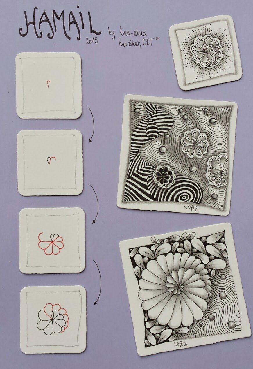 Pin Von Luzie Lang Auf Zentangle Pinterest Zentangle Muster