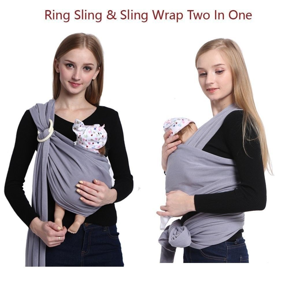 65 83 Baby Ring Sling Carrier Pouch Wrap Newborn For Small