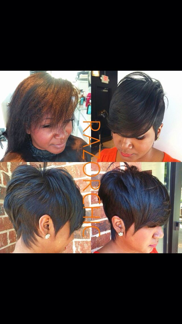 Short And Sassy Haircut Cute Beweave It Or Not Pinterest
