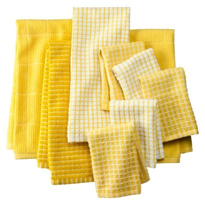 Incroyable Yellow Towel And Dishcloths Target