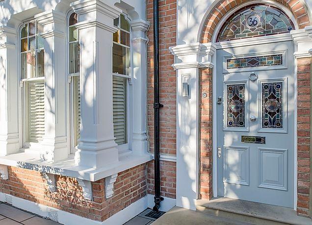 Bespoke front doors in London