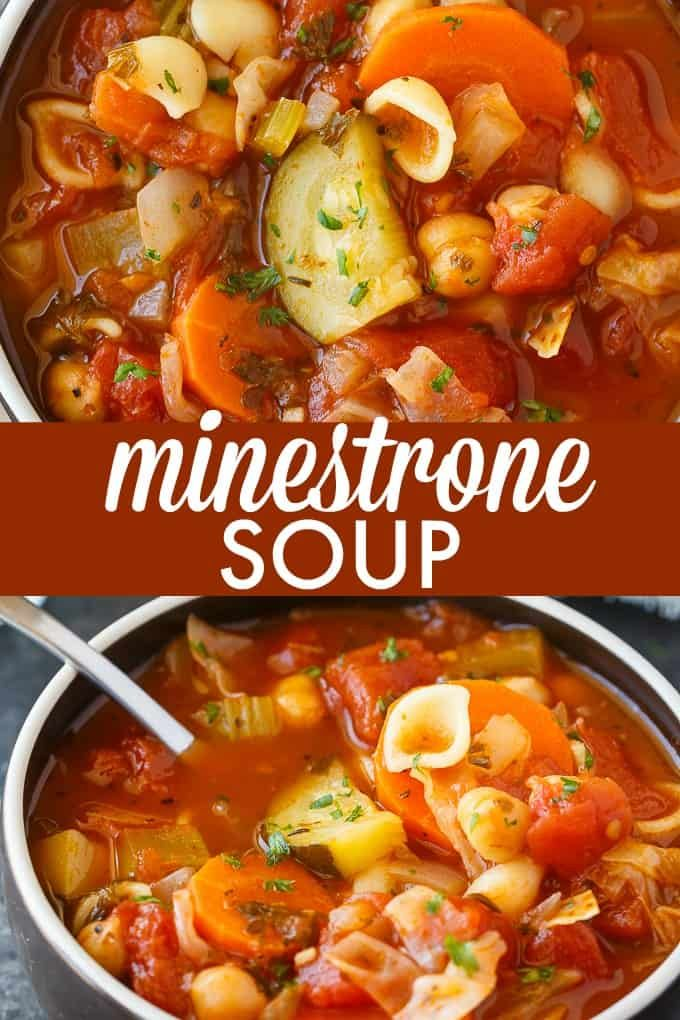 Minestrone Soup images
