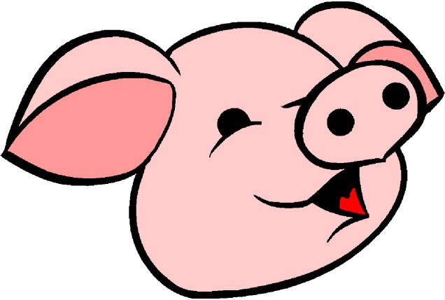 pig face clipart free clip art images draw a pig pinterest rh pinterest com Pig Face Outline Clip Art peppa pig face clip art