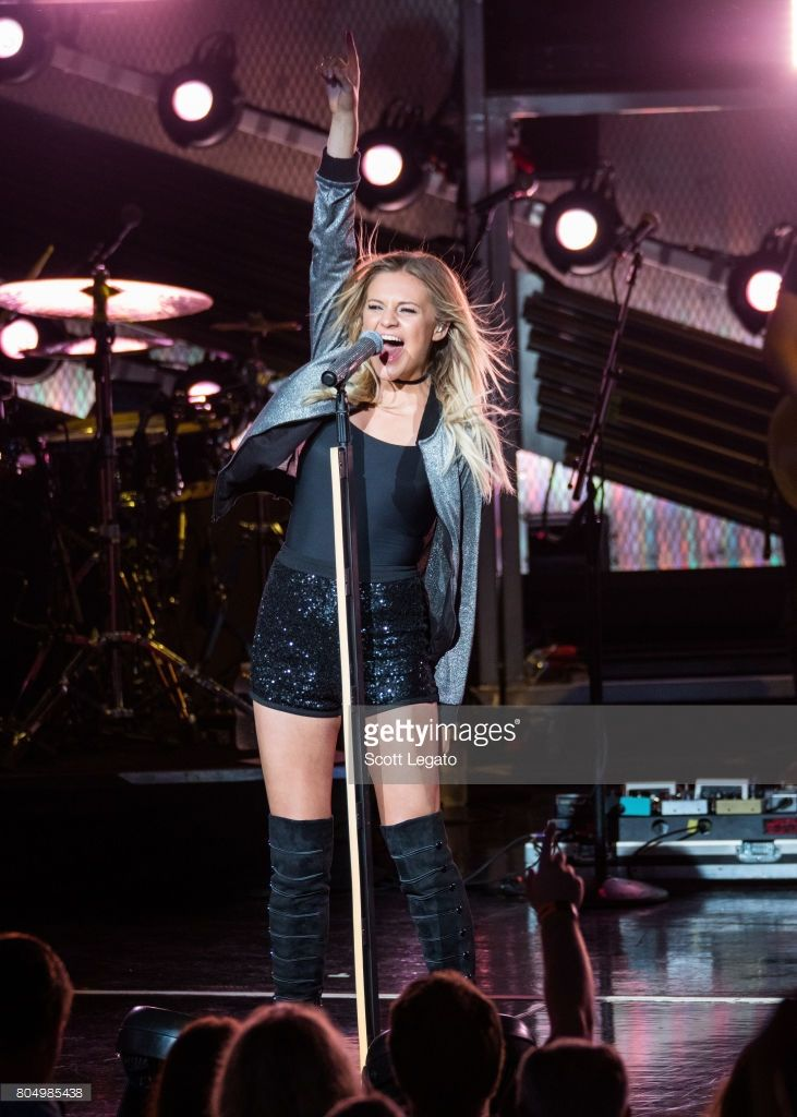 Kelsea Ballerini performs at the 99.5 WYCD Hoedown 2017 at