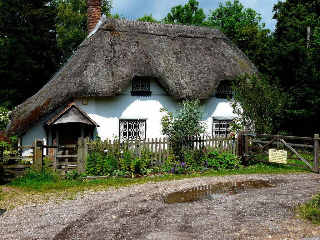 Green Roofs And Great Savings Thatched Cottage Thatched Roof Country Cottage Decor