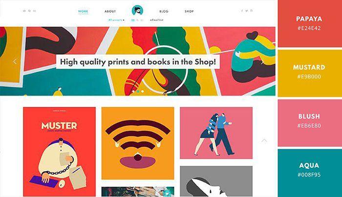 Best Website Color Scheme Examples Canva Learn Website Color Schemes Website Color Palette Brand Color Palette