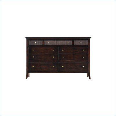 Stanley Furniture Hudson Street Dark Espresso Tribeca Double Dresser 712 13 06 Lowest Price Online On All