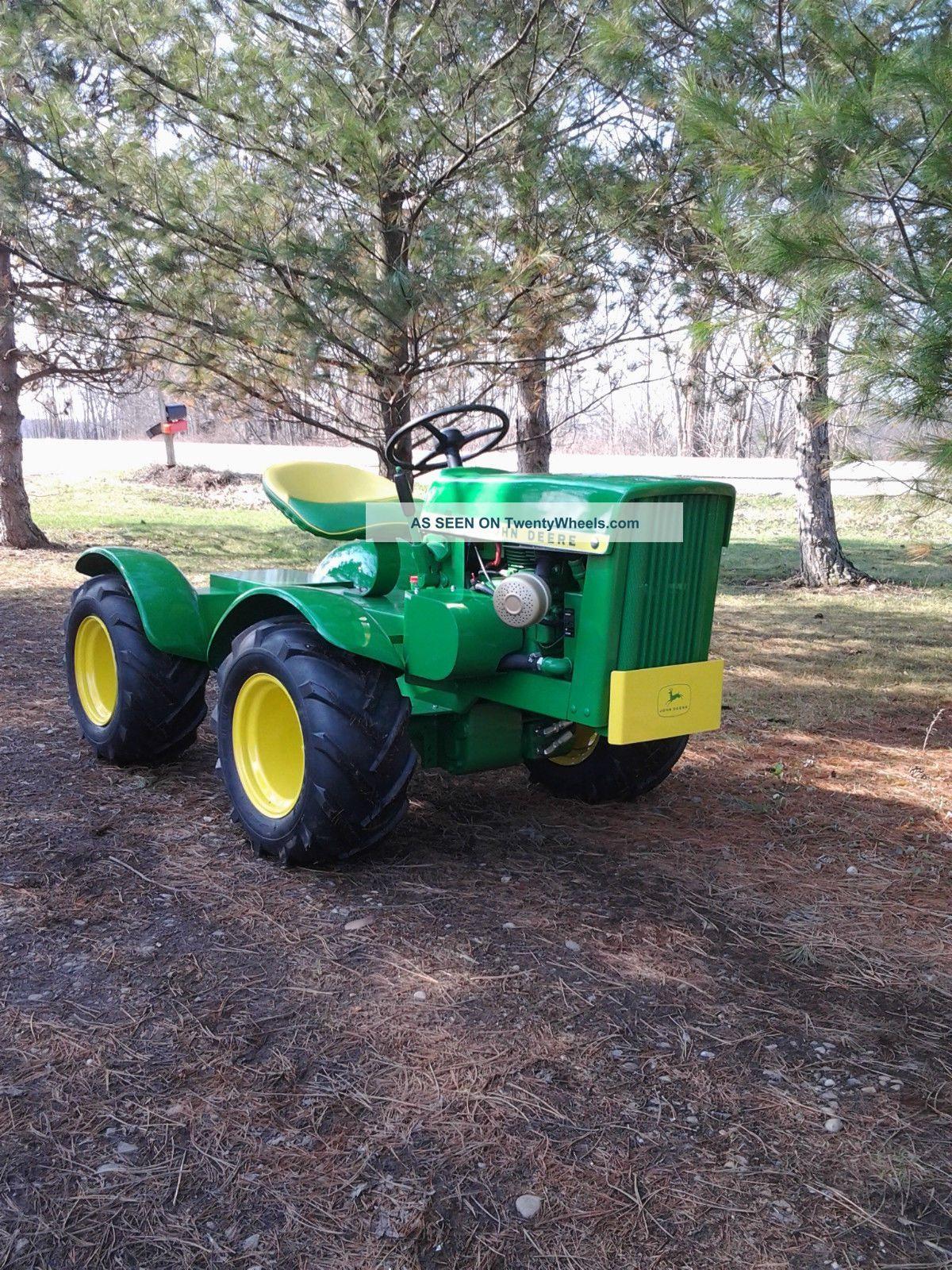 john deere custom | John Deere 110 Round Fender 4x4 Articulated Garden  Tractor - Custom .