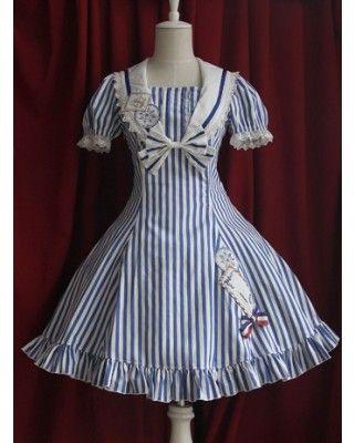 Infanta Sailor Lolita Dress OP 2 Colors - Special Price
