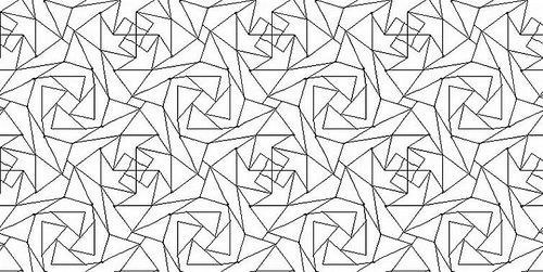 Detailed Geometric Coloring Pages | Geometric coloring pages ... | 251x500