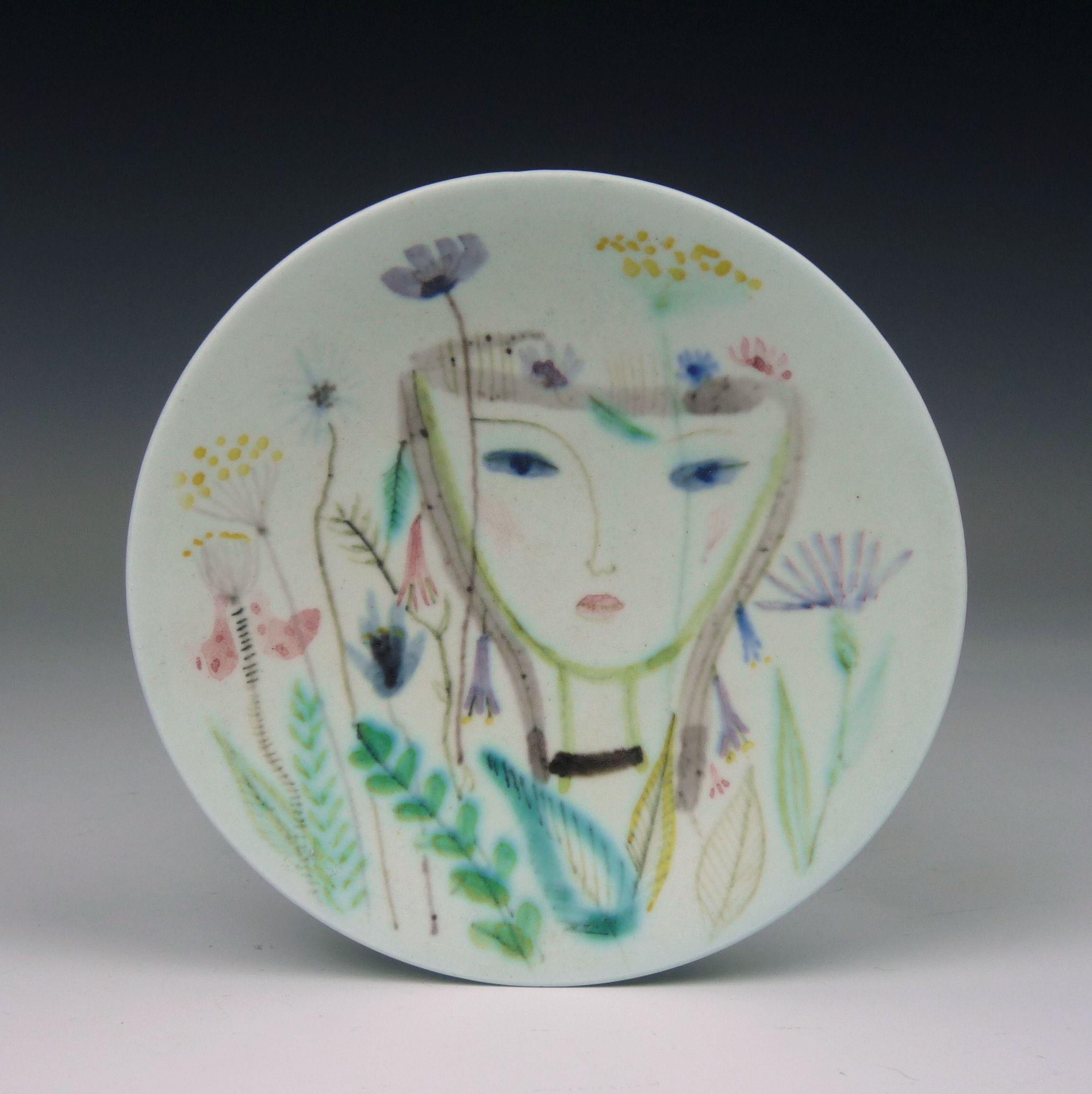 Gustavsberg, a unique plate by Stig Lindberg