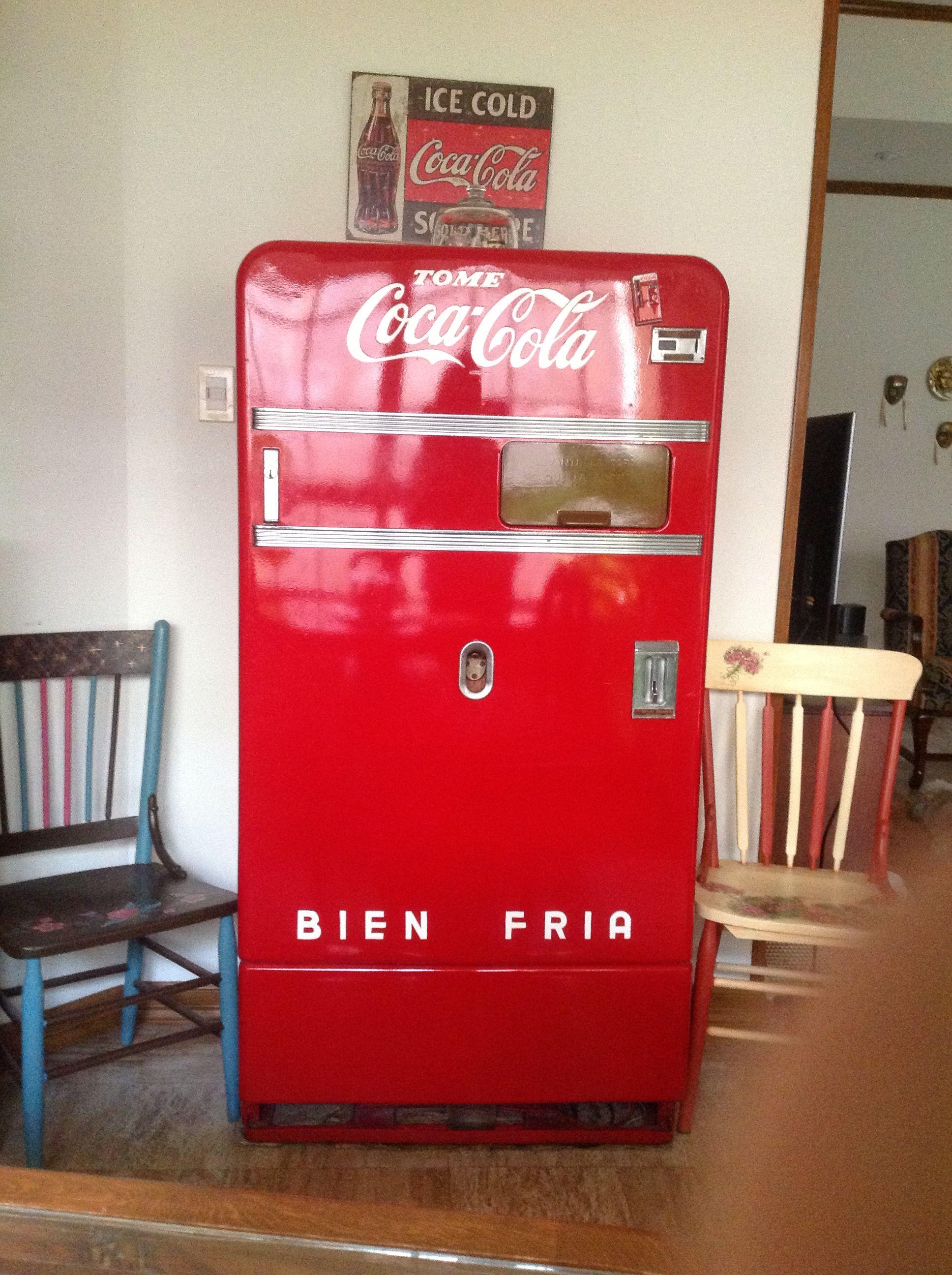 Refrigerador Coca Cola 1950