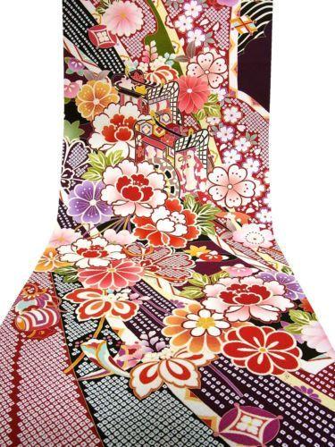 Японский орнамент.   Kimono fabric, Japanese kimono, Fabric