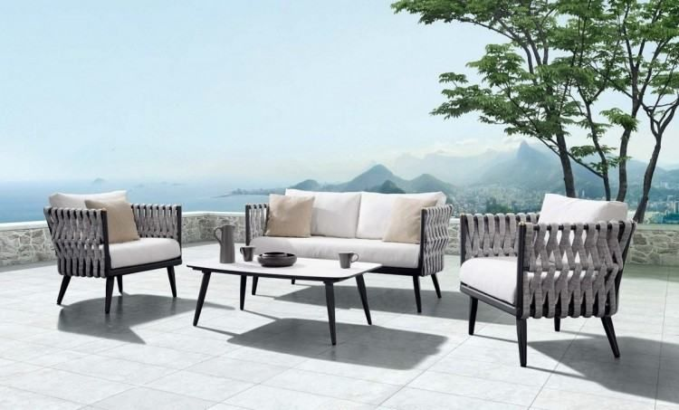 Outdoor Patio Living In 2020 Outdoor Lounge Set Quality Outdoor