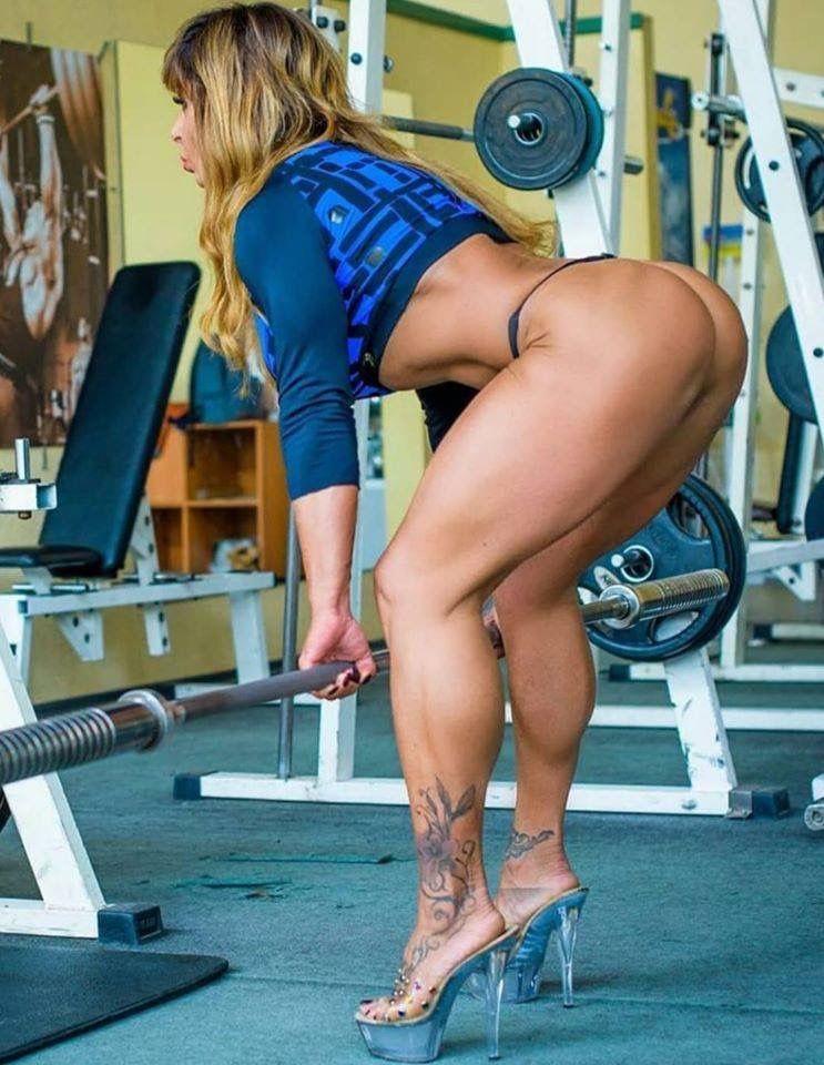 Beine frau muskulöse Muskulöse Beine?