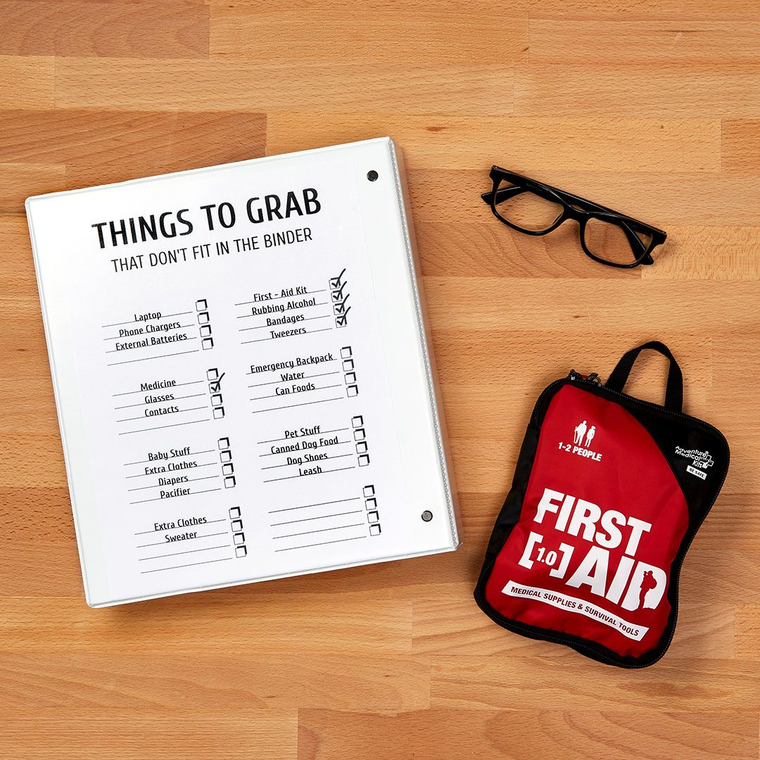 The Grab & Go Emergency Binder Is Something You Don't Want