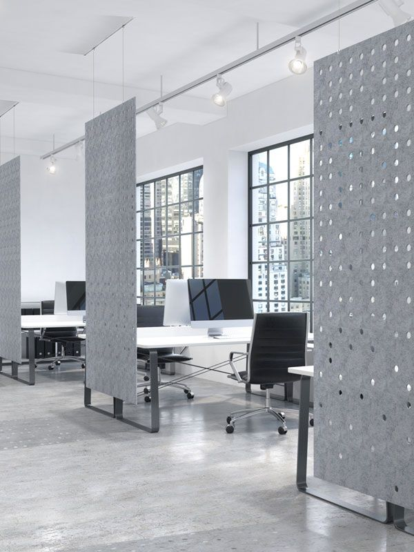 Picture Modern office design, Office dividers, Workspace