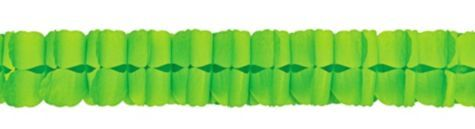 Kiwi Paper Garland 12ft - Party City