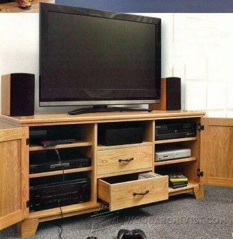 TV Lift Cabinet Plans - Furniture Plans and Projects | WoodArchivist.com