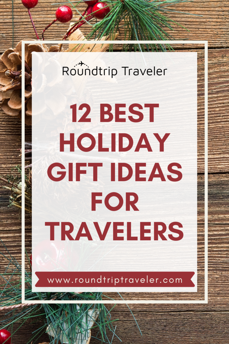 Find your holiday gift ideas and inspiration by shopping Roundtrip Traveler's 2020 Holiday Gift Guide. Shop accessories, travel gear, tech gadgets and travel essentials for a men, women, children and more. #christmas2020 #christmasgiftideas #holidays #holidayshopping #giftguide2020 #giftideas #travelgifts #giftsforboyfriend #giftsforfriend #giftideasformom #giftideasfordad #holidayshopping #christmaswishlist #shoppinglist #christmasdeals #holideals #discounts