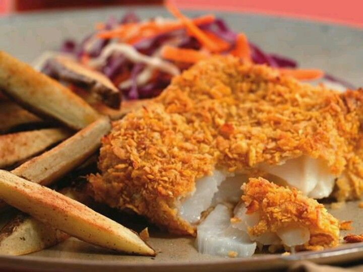 oven fried fish dinners and side dish 39 s pinterest