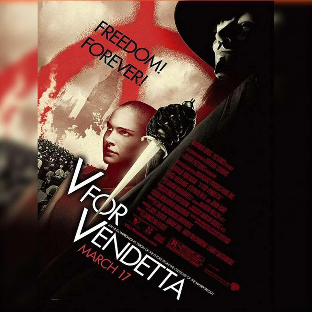 V de Vendetta 132 min Acción, Drama 2005 Nota IMDB 8