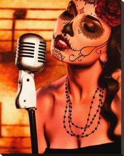 sugar skull singer