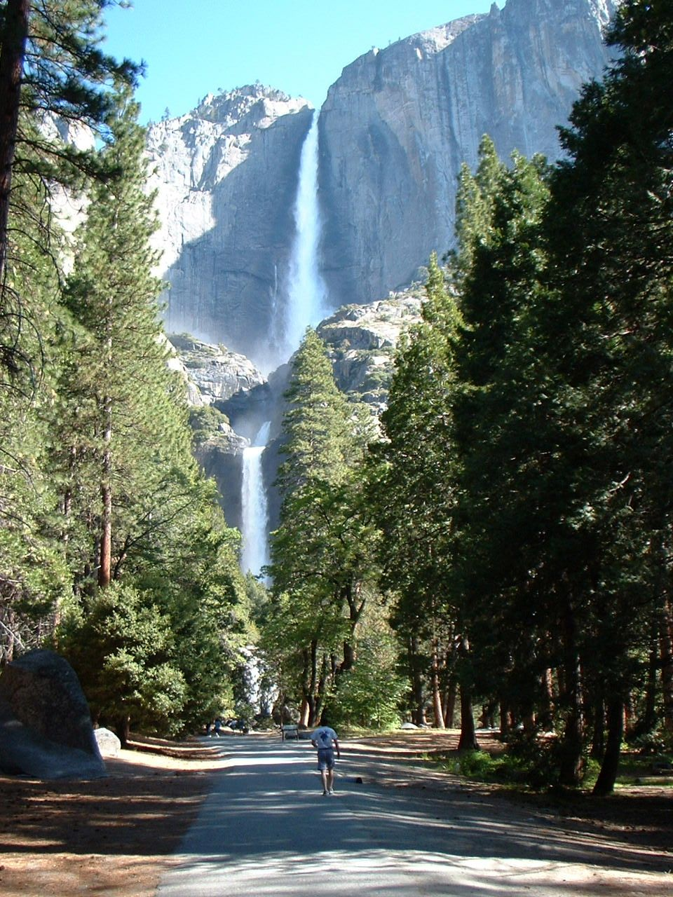 Falls in Yosemite, May 2002