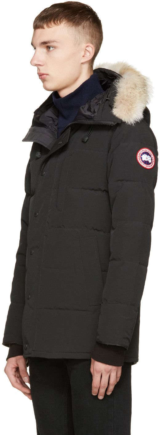 Canada Goose Black Down   Fur Black Label Carson Parka   Real DUDES ... 2b6e97ee71