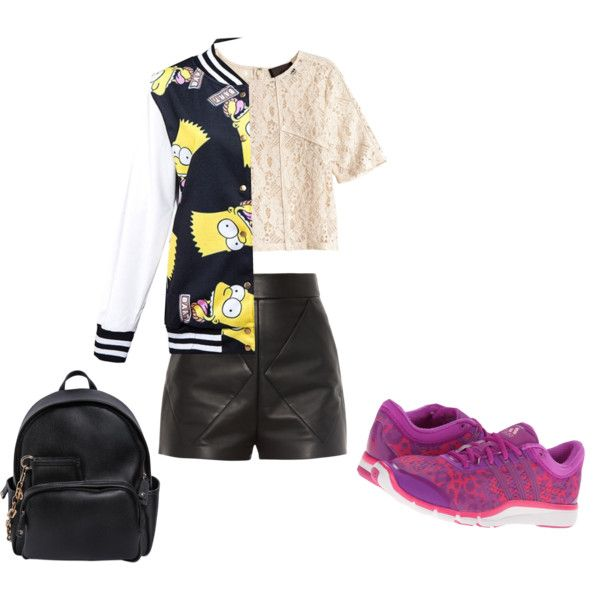 Untitled #168 by ridaputrijatmiko on Polyvore featuring moda, H&M, Balenciaga, adidas and Dsquared2
