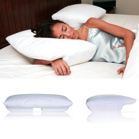 Captivating Living Healthy Products BSP 002 SM Small Better Sleep Pillow Cream Velour  Cover
