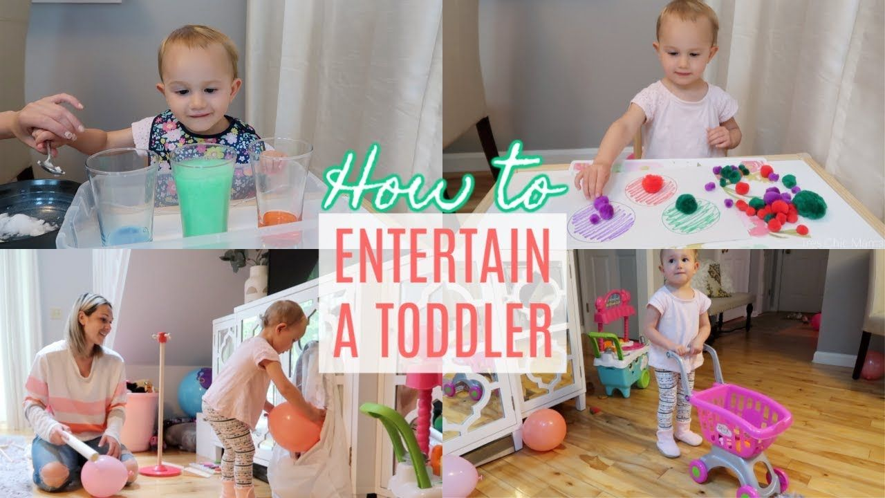 How to entertain a 2 year old toddler montessori