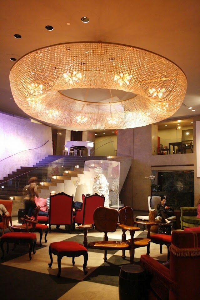 Paramount Hotel (New York) - kleine kamer, maar lekker centraal en een Dean in het hotel voor ontbijt