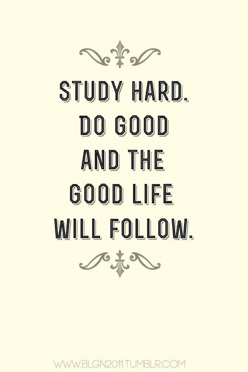 Study Motivation Quotes Tumblr
