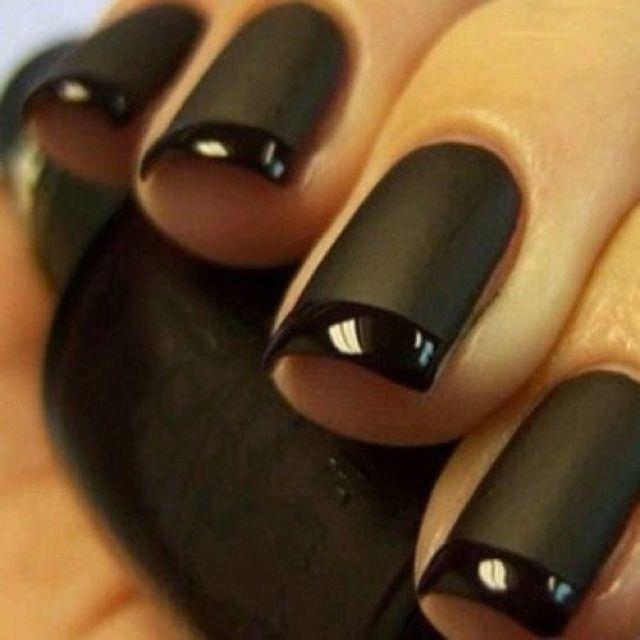 I Wouldn't Think I Would Like Black Matte Nail Polish